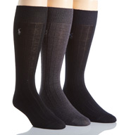 Polo Ralph Lauren Merino Wool Dress Socks - 3 Pack 8082PK