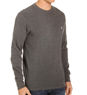 Polo Ralph Lauren Waffle-Knit Long Sleeve Tall Man Crew P341RL